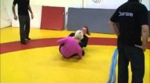 SGL 2012 Öst 4 damer nybörjare -58kg & -71kg Petra Josefsson vs Teresa Guillemot