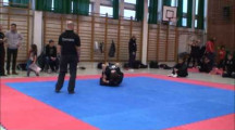SGL final 2012 herrar nybörjare -66kg Rikard Flodin vs Nosser Jalali