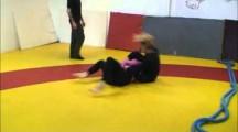 SGL 2012 Öst 4 damer avancerade -64kg & nybörjare -71kg Sara Svensson vs Teresa Guillemot