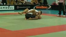 ESWT 2009 -75kg Sebastian Lazo vs Stefan Johansson