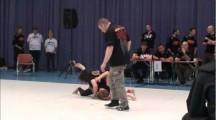 ADCC European Championship 2011 -60kg final Sara Svensson vs Katja Kalliokoski