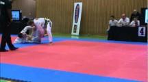 NOC 2012 herrar adult blåttbälte -88,3kg bronsmatch Joel Claesson vs Tony Jonsson