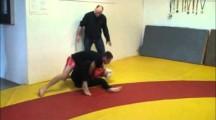SGL 2012 Öst 3 herrar -62kg & damer -71kg nybörjare Rebin Karim vs Teresa Guillemot