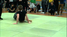 SGL final 2011 Nybörjare 88kg Filip Jonsson vs Erik Lindén