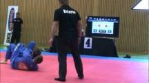 NOC 2012 herrar adult blåttbälte -82,3kg Viktor Åberg vs Mandorf Aronsson