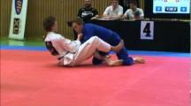 NOC 2012 herrar adult blåttbälte -82,3kg Thom Zäll Skov vs Johan Thorsell