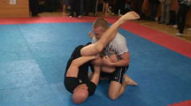SGL 090322 Nybörjare-77kg Daniel Rosendahl EGAK vs Alexander Johansson Örebro MMA