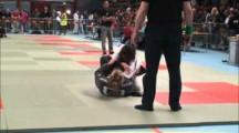 BJJ RM 2012 damer -64kg final Sara Widgren vs Ambar Villagran