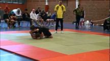 ESWT 2012 herrar -75kg Charles Haddad vs Nils Norlander