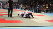 BJJ RM 2012 damer -64kg Ambar Villagran vs Maria Hjalmarsson