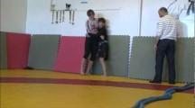 SGL Öst 3 2011 -60kg Anny Hammarsten vs Matilda Bohlin