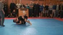 SGL Öst 090322 Nybörjare -66kg Mattias Ljungbeck vs unknown
