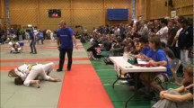 BJJ SM 2011 Flickor juniorer -64kg final Ylva Monwell vs Juanita Anco Löfgren