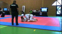NOC 2012 herrar adult blåttbälte -88,3kg Adam Persson vs Martin Gabel