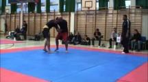 SGL final 2012 herrar avancerade +100kg Mikael Knutsson vs Emil Dedajic