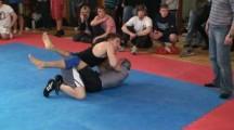 SGL Öst 090322 Nybörjare -66kg Christoffer Kun EGAK vs unknown