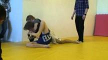 SGL Öst 3 2010 Nybörjare -77kg Filip Jonsson vs Anton Myllyvainio