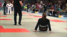 BJJ RM 2012 damer -64kg Christina Kroon Vedin vs Karin Andersson