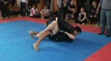 SGL Öst 090322 Nybörjare -77kg Daniel Rosendahl EGAK vs unkown