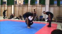 SGL final 2012 herrar nybörjare -100kg Saliou Sall vs unknown1