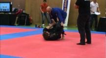 NOC 2012 herrar adult blåttbälte -82,3kg Torbjörn Lundén vs Arash Javanbakht